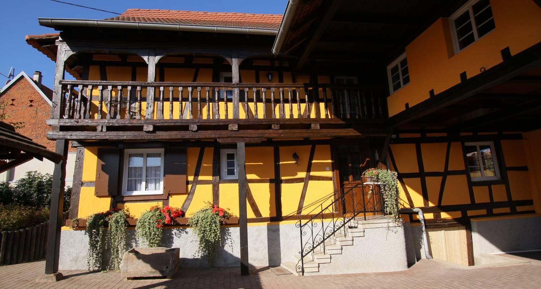 Bed & breakfast: la ferme pierre in donnenheim (119712)