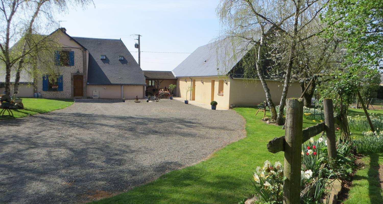 Chambre d'hôtes: les logis dubreuil à marchéville (119794)