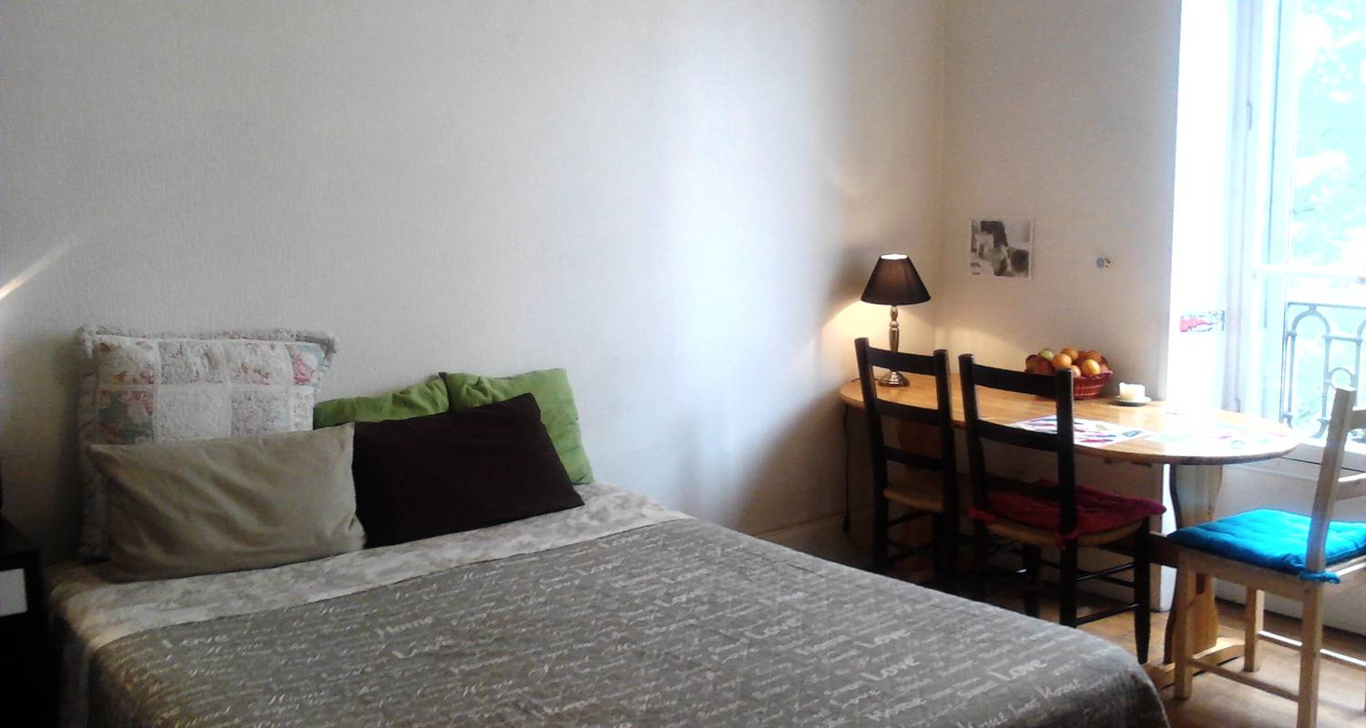 Furnished accommodation: big room at center+wifi+kitchen in grenoble (119917)