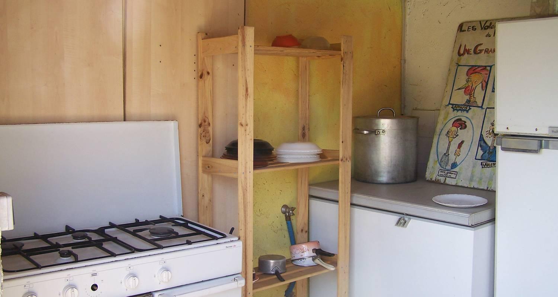 Espacios del campamento: camping a la ferme du nouveau mas en montdardier (120065)