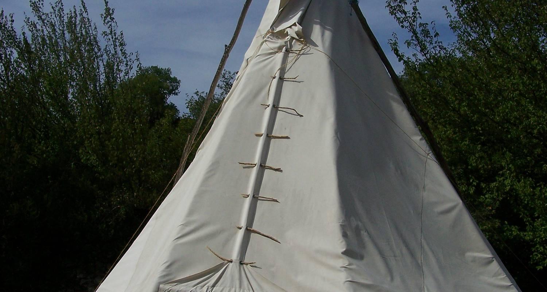 Espacios del campamento: camping a la ferme du nouveau mas en montdardier (120063)