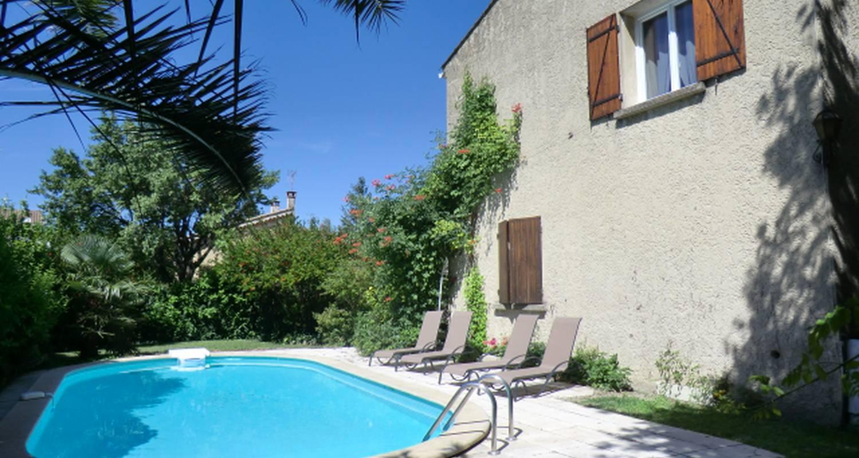 Furnished accommodation: lou brès en provence in vedène (120072)