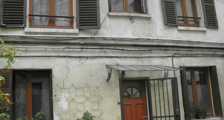 Chambre chez l'habitant: studio duplex à belleville à paris (120108)