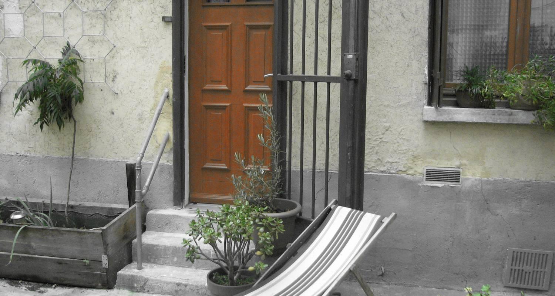 Chambre chez l'habitant: studio duplex à belleville à paris (120107)