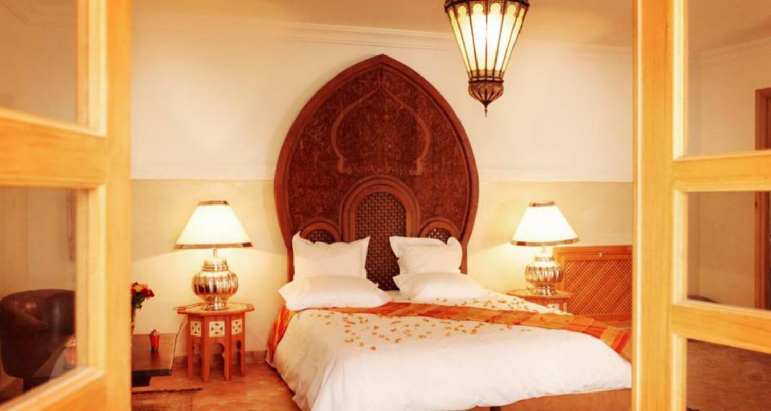 Bed & breakfast: suite chic with pool in marrakesh (120138)