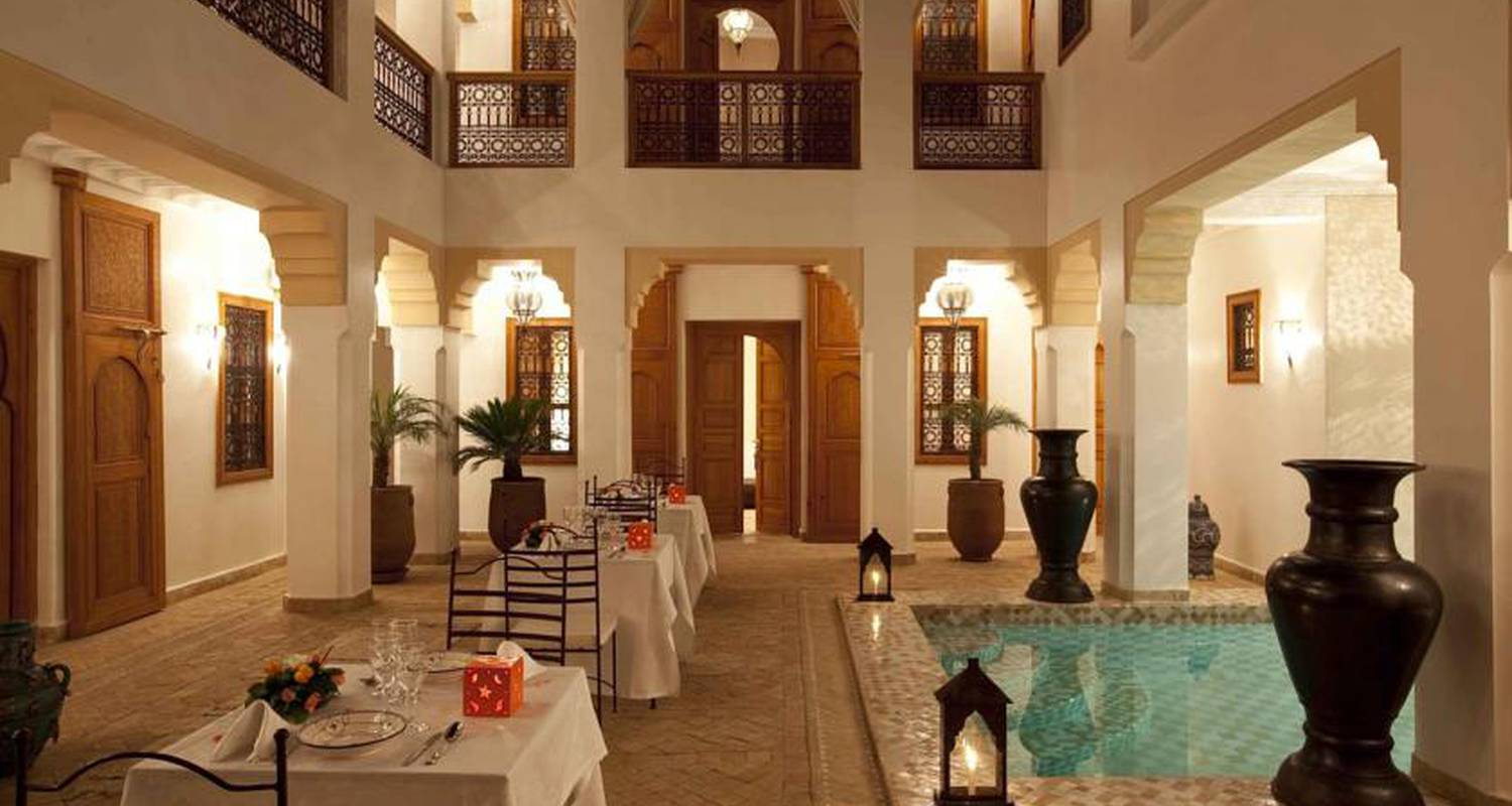 Bed & breakfast: suite chic with pool in marrakesh (120140)