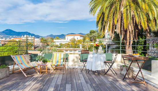 Port de Nice petite maison de charme