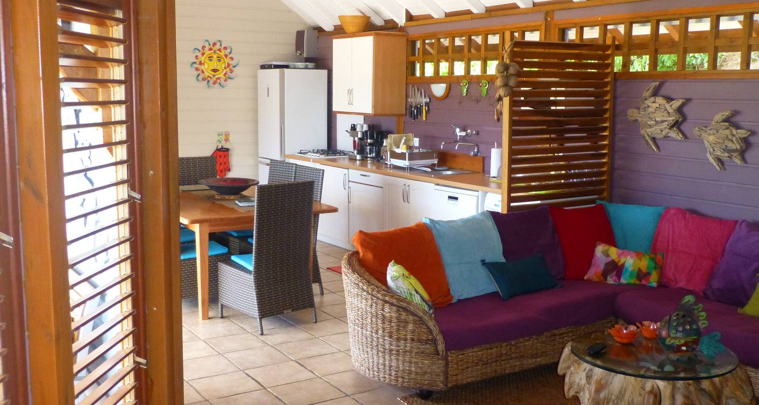 Furnished accommodation: rochers caraibes eco-village in pointe-noire (120718)