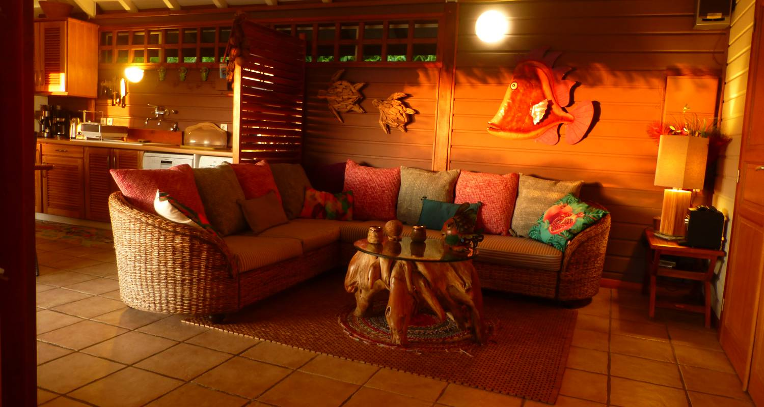 Furnished accommodation: rochers caraibes eco-village in pointe-noire (122666)