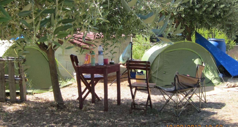 Emplacements de camping: le jardin de véro à saint-cyr-sur-mer (120849)