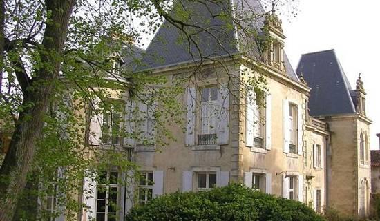 Château de St Michel de Lanès foto