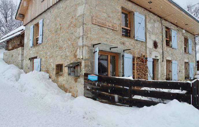 L'émeraude des Alpes, chambres et table d'hôtes du Désert en Chartreuse