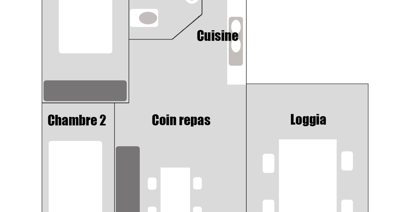 Gîte: gîte des prés                                                                          à criquetot-l'esneval (129843)
