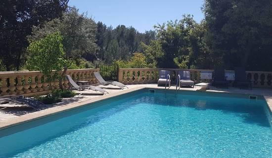 Chambre d'Hôtes Provence 2 pers Le Domaine d'Alèzen - piscine-tennis-pétanque picture