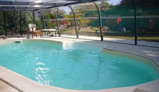 gîte la prairie avec piscine couverte pour 4 personnes foto