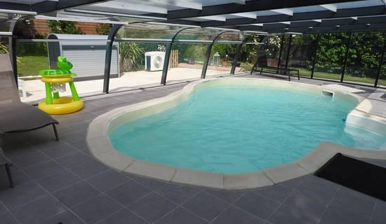 gîte la prairie avec piscine couverte pour 4 personnes photo