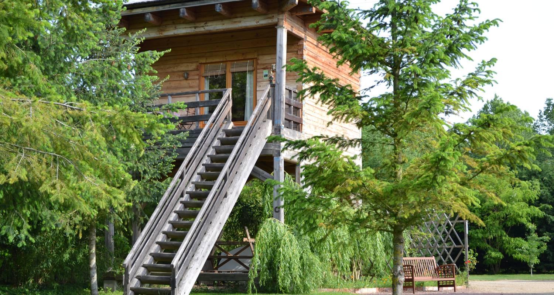 Gîte: écolodge en cabane perchée à brion (121661)