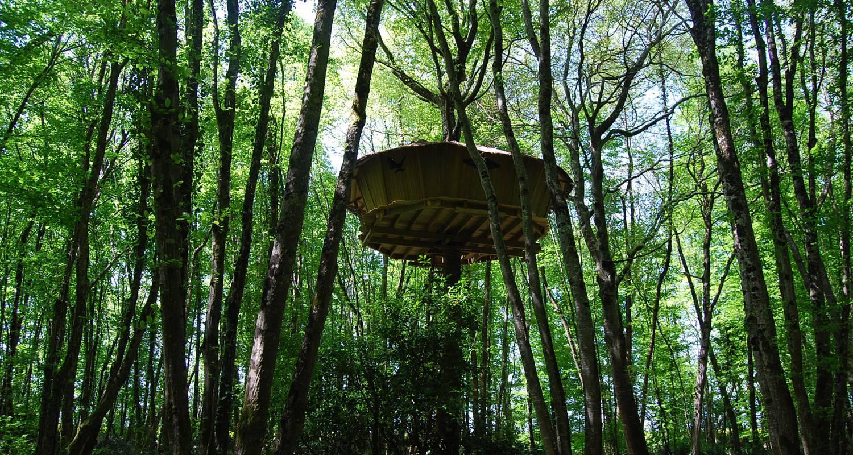 Other kind of rental accommodation: cabane à échelle de la hulotte in magné (121816)