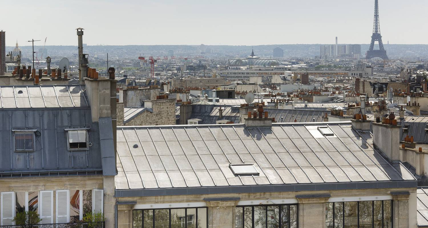Furnished accommodation: view of the roofs of paris in paris (121923)