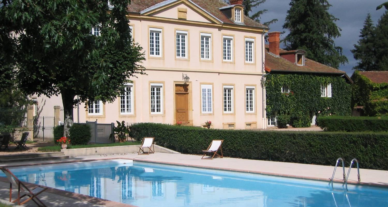 Chambre d'hôtes: domaine du château de marchangy à saint-pierre-la-noaille (122338)