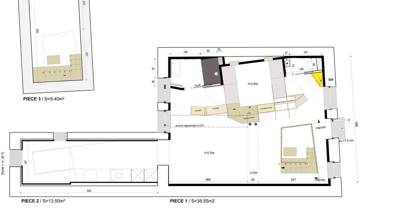 Logement meublé: loft atypique croix-rousse à lyon (122370)