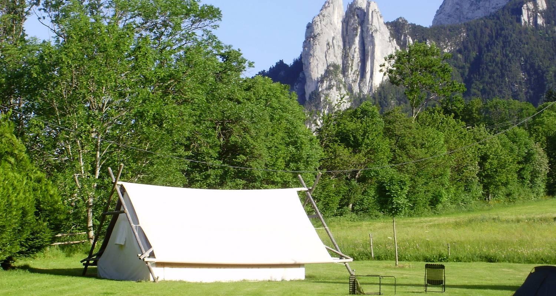 Location, bungalow, mobil-home: le camp des découvreurs à saint-nizier-du-moucherotte (122386)