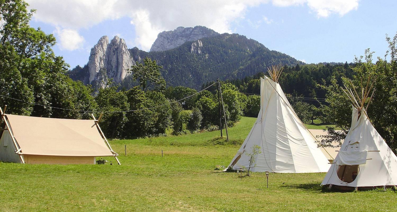 Location, bungalow, mobil-home: le camp des découvreurs à saint-nizier-du-moucherotte (122380)