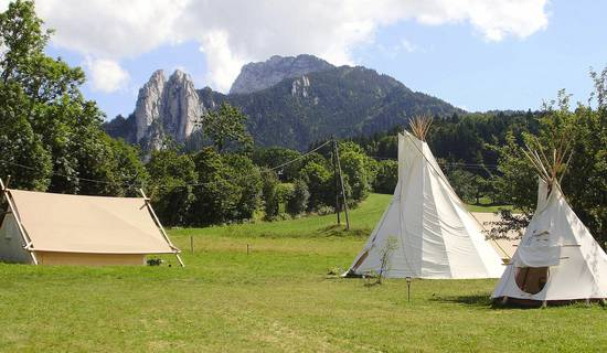 Le camp des découvreurs