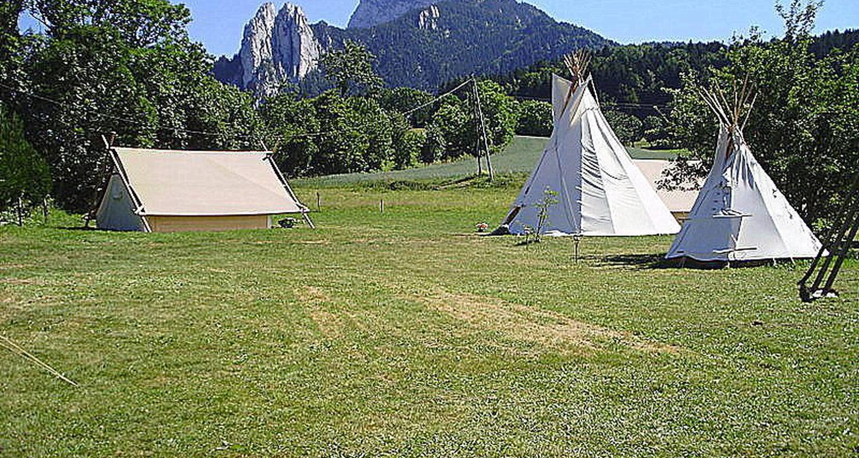 Location, bungalow, mobil-home: le camp des découvreurs à saint-nizier-du-moucherotte (122381)