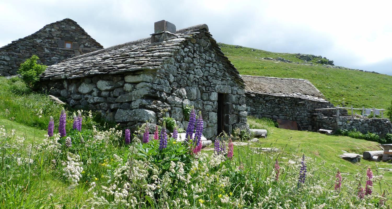Amueblado: buron de la fumade vieille - cantal auvergne en saint-jacques-des-blats (122508)