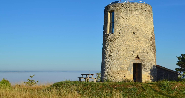 Furnished accommodation: moulin de la garenne in vibrac (122646)