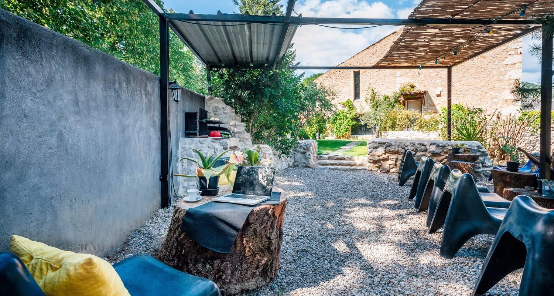 Habitación de huéspedes: bastide vieux chêne en condorcet (122714)