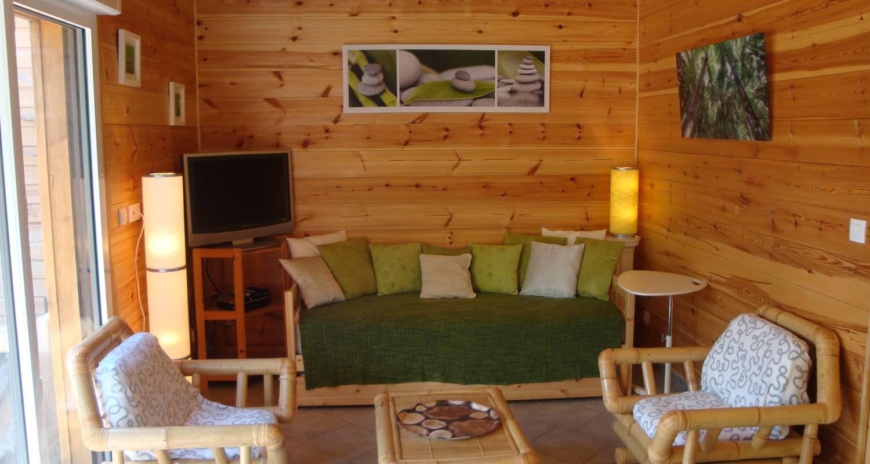Logement meublé: le chalet à mimizan-plage (123187)