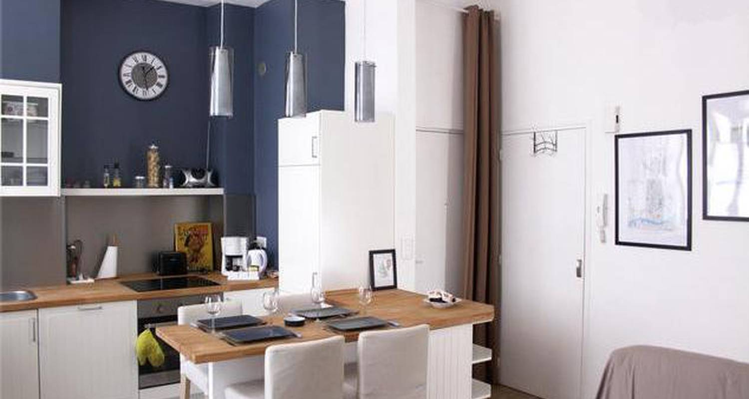 Furnished accommodation: appartement charmant nantes centre in nantes (123355)