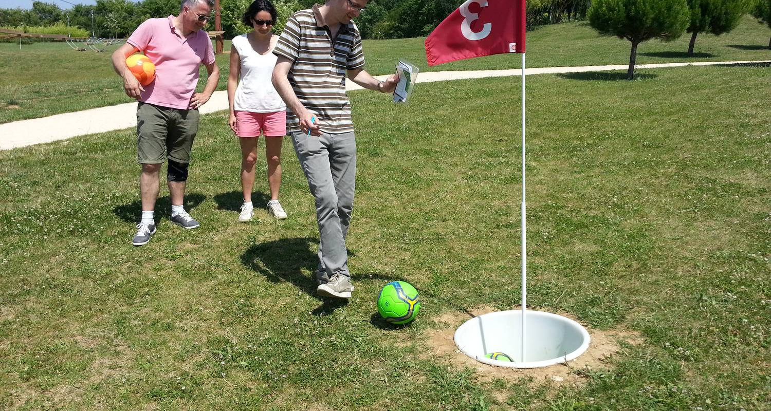 Activity: footgolf in upie (123405)