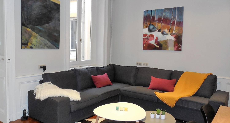 Logement meublé: le franklin, bel appartement idéalement situé à lyon (123470)