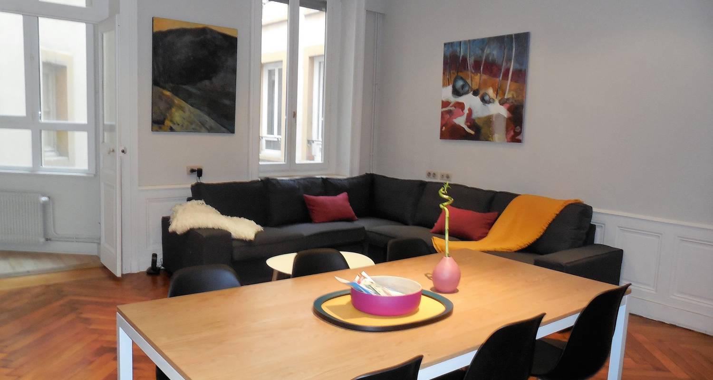 Logement meublé: le franklin, bel appartement idéalement situé à lyon (123414)