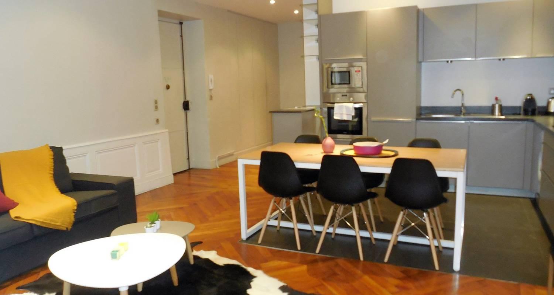 Logement meublé: le franklin, bel appartement idéalement situé à lyon (123410)