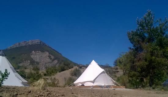"""Camping à la ferme """"Les Eysserennes"""""""