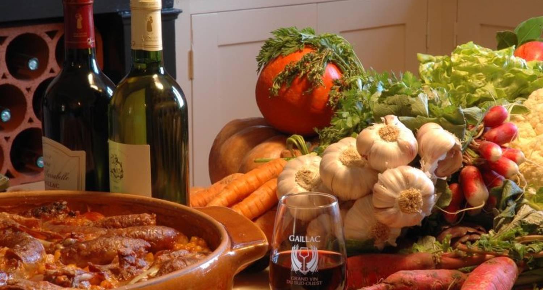 Activité: séjours oenologiques, table d'hôtes, dégustation de vins à salvagnac (123600)