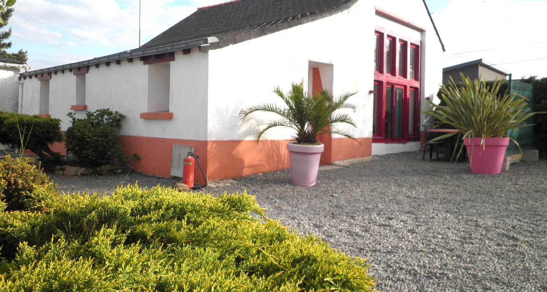 Logement meublé: la grange - 2 chambres wifi- jardin prive- sejour a partir de 2 nuits à guérande (123621)