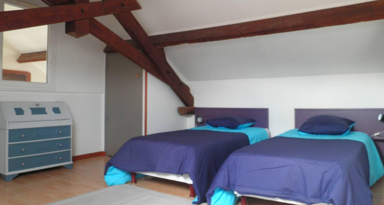 Logement meublé: la grange - 2 chambres wifi- jardin prive- sejour a partir de 2 nuits à guérande (130785)