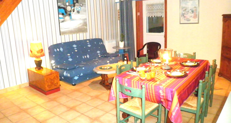 Furnished accommodation: les hortensias - gite avec 2 chambres - location à partir de deux nuits in guérande (123640)