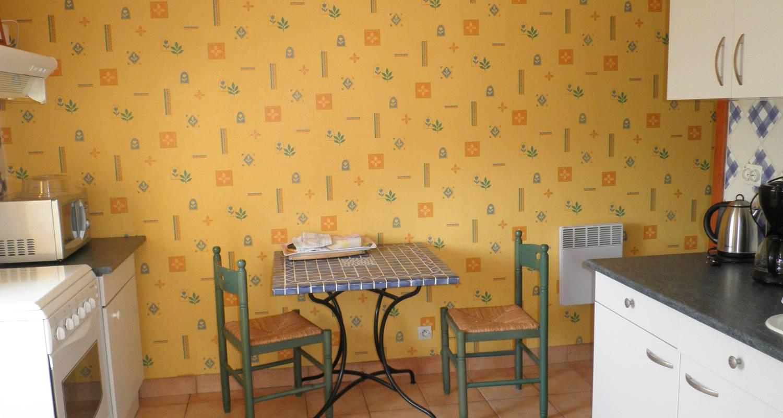 Furnished accommodation: les hortensias - gite avec 2 chambres - location à partir de deux nuits in guérande (123642)