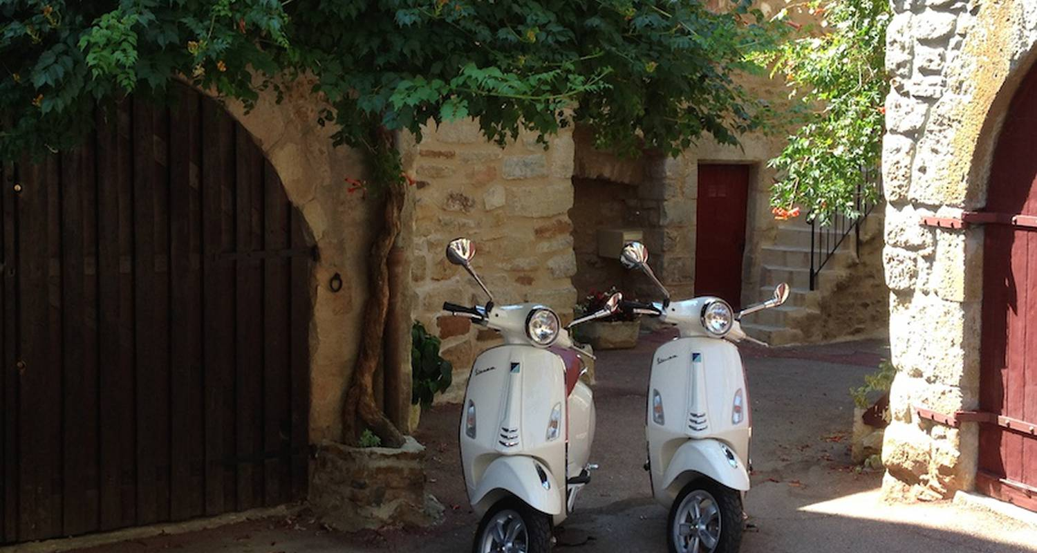Activity: location de vespa primavera 50 cc in vinezac (123670)