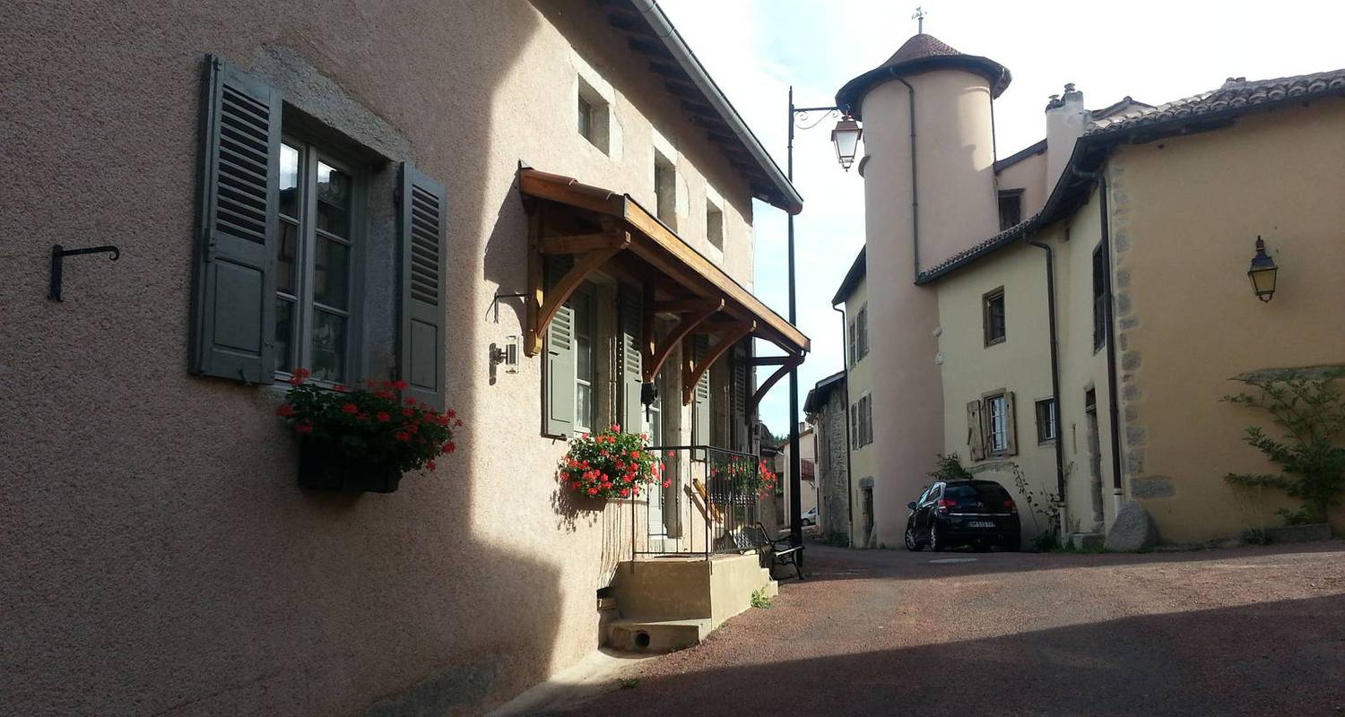 Bed & breakfast: saint jacques-roanne  guesthouse in saint-haon-le-châtel (123720)