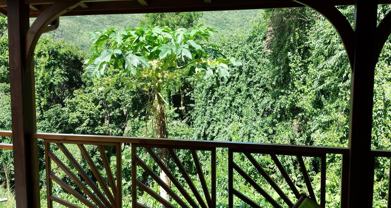 Gîte: bambou - ecogîte avec mezzanine in pointe-noire (124086)