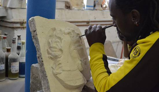 Stone carving courses picture