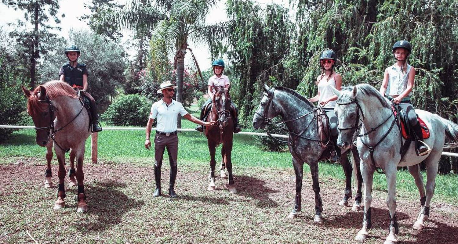 Activity: horse riding: rides and teaching in marrakesh (124332)
