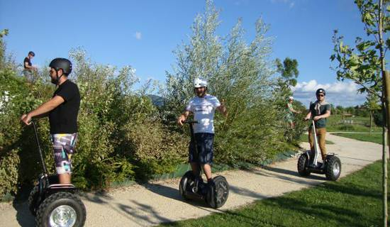 Visite d'Upie en Segway photo